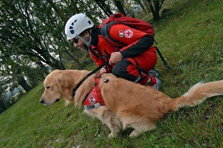Unità Cinofile Area Emergenza Croce Rossa Italiana Comitato di Stradella Pavia