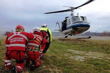 Elicottero Area Emergenza Croce Rossa Italiana Comitato di Stradella Pavia